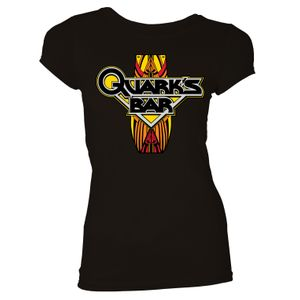[Star Trek: Deep Space Nine: Women's Fit T-Shirt: Quark's Bar (Black) (Product Image)]