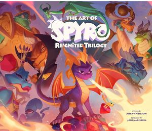 [The Art Of Spyro: Reignited Trilogy (Hardcover) (Product Image)]