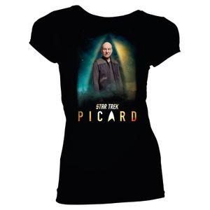 [Star Trek: Picard: Women's Fit T-Shirt: Jean-Luc Picard (Product Image)]