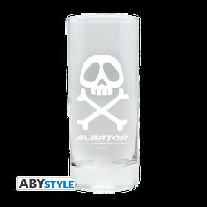 [Captain Harlock: Glass: Captain Harlock Emblem (Product Image)]
