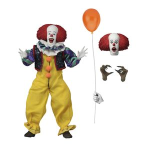 [IT (1990): Action Figure: Pennywise (Clothed) (Product Image)]