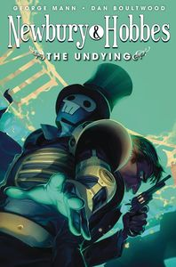 [Newbury & Hobbes #3 (Undying Cover B Glass) (Product Image)]