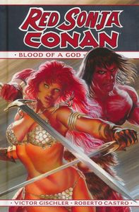 [Red Sonja/Conan: Blood Of A God (Hardcover) (Product Image)]