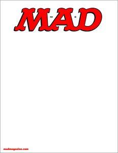 [Mad Magazine #538 (Blank Variant Edition) (Product Image)]