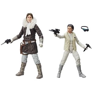 [Star Wars: Black Series Action Figure 2-Pack: Han Solo & Princess Leia (Product Image)]