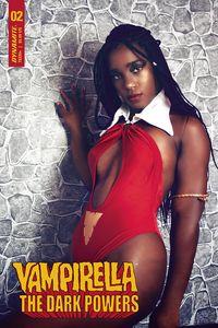 [Vampirella: Dark Powers #2 (Cover E Vanta Black Cosplay) (Product Image)]