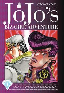 [Jojos Bizarre Adventure: Part 4: Diamond Is Unbreakable: Volume 1 (Hardcover) (Product Image)]