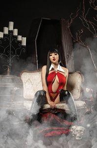 [Vengeance Of Vampirella #23 (Cover F Cosplay Virgin Variant) (Product Image)]