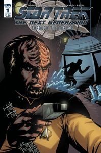 [Star Trek: The Next Generation: Through The Mirror #1 (Cover B Johnson) (Product Image)]