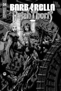 [Barbarella/Dejah Thoris #4 (Cover B Hsieh) (Product Image)]