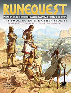 [RuneQuest: The Smoking Ruins & Other Stories (Hardcover) (Product Image)]