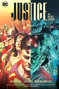 [Justice: The Deluxe Edition (Hardcover) (Product Image)]