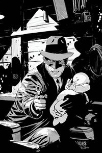 [Green Hornet #1 (Weeks Black & White Virgin Premium Limited Variant) (Product Image)]