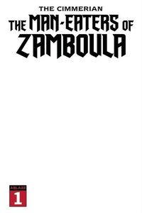 [Cimmerian: Man-Eaters Of Zamboula #1 (Cover K Blank Sketch) (Product Image)]