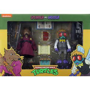 [Teenage Mutant Ninja Turtles: Cartoon Action Figure 2 Pack: Splinter & Baxter (Product Image)]