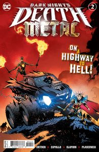 [Dark Nights: Death Metal #2 (2nd Printing Capullo Recolored Variant) (Product Image)]