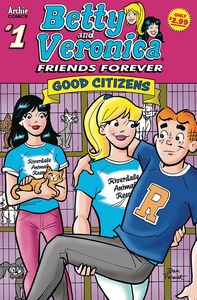 [Betty & Veronica: Friends Forever: Good Citizen #1 (Product Image)]
