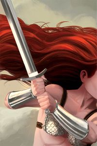 [Red Sonja #18 (Bob Q Virgin Variant) (Product Image)]