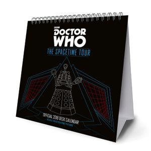 [Doctor Who: Desk 2018 Easel Calendar (Product Image)]