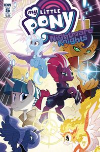[My Little Pony: Nightmare Knights #5 (Cover A Fleecs) (Product Image)]