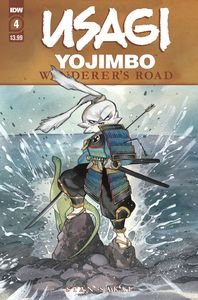 [Usagi Yojimbo: Wanderers Road #4 (Peach Momoko Cover) (Product Image)]
