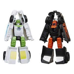 [Transformers: Generations: War For Cybertron: Micromasters Action Figures: Trip-Up & Daddy-O (Product Image)]