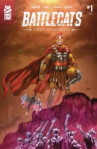 [The cover for Battlecats: Tales Of Valderia #1]