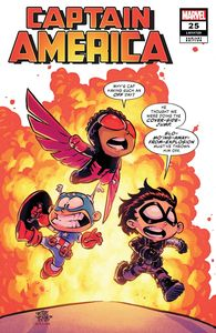 [Captain America #25 (Young Variant) (Product Image)]