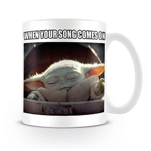 [Star Wars: The Mandalorian: Mug: The Child When Your Song Comes On (Baby Yoda) (Product Image)]