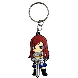 [Fairy Tail: PVC Keychain: Erza (Product Image)]