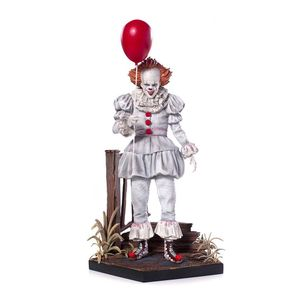 [IT (2017): Deluxe Art Scale Statue: Pennywise (Product Image)]