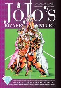 [JoJo's Bizarre Adventure 4: Diamond Is Unbreakable: Volume 7 (Hardcover) (Product Image)]