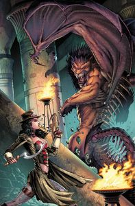[Grimm Fairy Tales: Van Helsing Vs The Mummy Of Amun Ra #2 (Cover B Metc) (Product Image)]