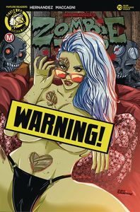 [Zombie Tramp: Ongoing #70 (Cover D Rudetoons Reynolds Risque) (Product Image)]