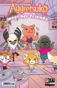 [Aggretsuko: Meet Her Friends #1 (Cover A Dubois) (Product Image)]