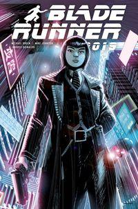 [The cover for Blade Runner 2019 #4 (Cover A Albuquerque)]