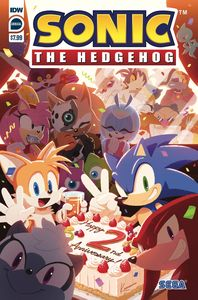 [Sonic The Hedgehog: Annual 2020 (Cover A Sonic Team) (Product Image)]