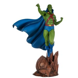 [DC: Super Powers Collection Maquette: Martian Manhunter (Product Image)]