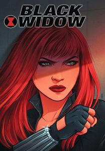 [Black Widow: Postcard Book (Hardcover) (Product Image)]