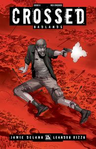 [Crossed: Badlands #8 (Red Crossed Variant) (Product Image)]