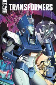 [Transformers #19 (Cover B Shepherd) (Product Image)]