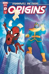 [Marvel Action: Origins #1 (Garbowska Variant) (Product Image)]