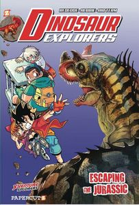[Dinosaur Explorers: Volume 6: Escaping The Jurassic (Product Image)]