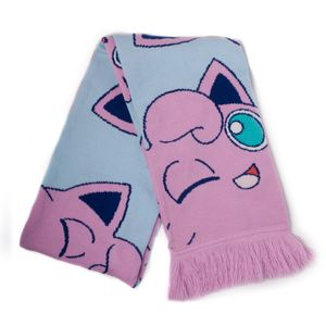[Pokemon: Pastel Knitted Scarf: Jigglypuff (Product Image)]