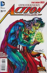 [Action Comics #35 (Monsters Variant Edition) (Doomed) (Product Image)]