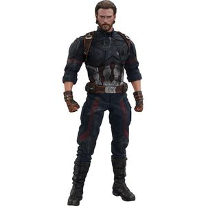[Avengers: Infinity War: Hot Toys Action Figure: Captain America (Product Image)]