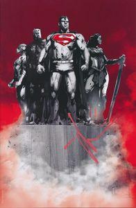 [Justice League #1 (Jetpack Jock Virgin Variant - Signed) (Product Image)]