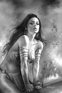 [Dejah Thoris: 2019 #8 (Parrillo Black & White Virgin Variant) (Product Image)]