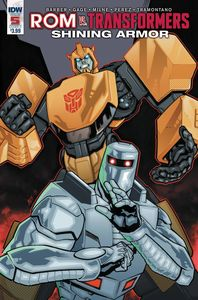 [Rom Vs Transformers: Shining Armor #5 (Cover C Messina) (Product Image)]