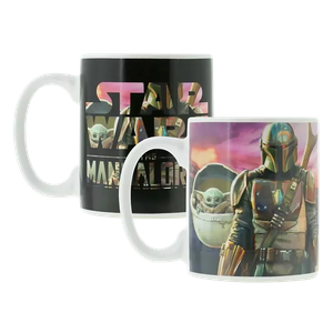 [Star Wars: The Mandalorian: Heat Change Mug (Product Image)]